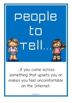 People to Tell - Online Safety