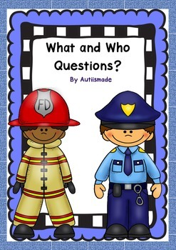 People who help us - What and Who questions?