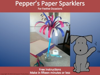 Pepper's Paper Sparklers