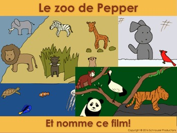 Pepper's Zoo is a Wildlife Reserve in French