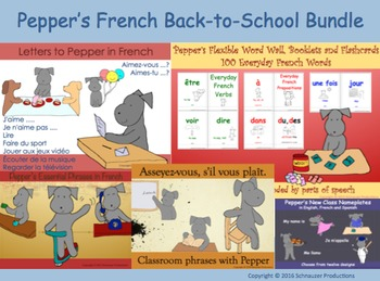 Pepper's French Back-to-School Bundle