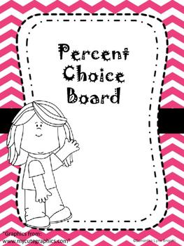 Percent Choice Board