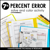 Percent Error Coloring Page