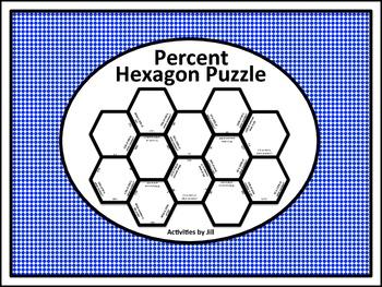 Percent Hexagon Puzzle