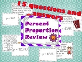 Percent Proportion Review