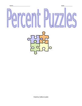 Percent Puzzles