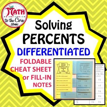 Percent Solving