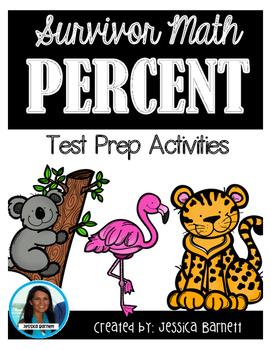 7th Grade Math Test Prep: Percent Operations