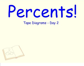 Percent Word Problems with Tape Diagrams