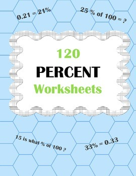 Percents Worksheets