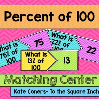 Percent of 100 Center