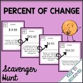 Percent of Change Scavenger Hunt