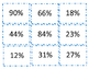 Percent of Change and Fraction to Decimal to Percent Card Sort