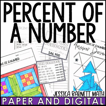 Percent of a Number Lesson Bundle