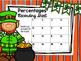 Percentage Task Cards - St. Patrick's Day