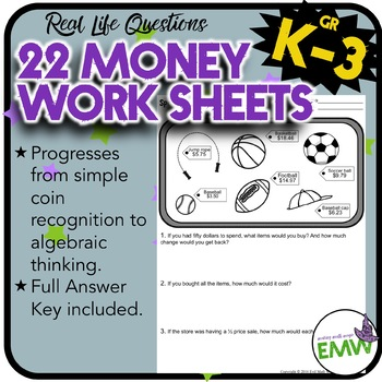 Money Workbook - 22 Deep Thinking and Differentiated Works