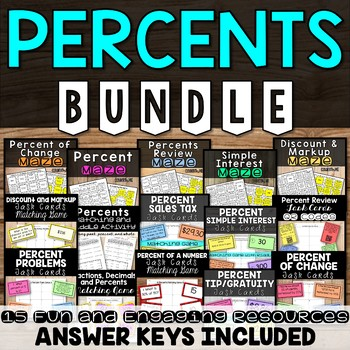 Percents BUNDLE
