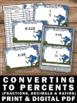 Converting Fractions Decimals and Ratios to Percents Task