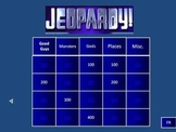 Percy Jackson - Lightning Thief Quizzes, Jeopardy, Test Re