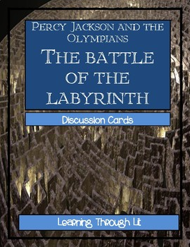 Percy Jackson THE BATTLE OF THE LABYRINTH by Rick Riordan-