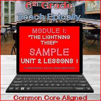 The Lightning Thief-Percy Jackson- ELA-Vate Utah Module 1