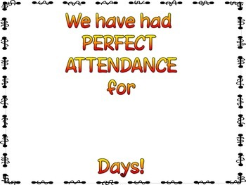 Perfect Attendance Count-Up