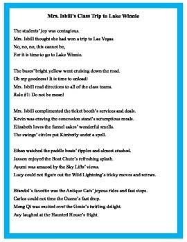 Perfect Poem for Possessive Nouns