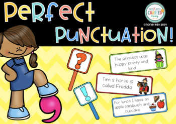 Perfect Punctuation- Literacy Activity