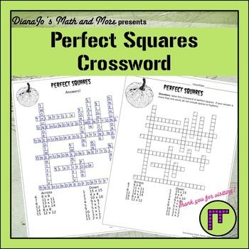 8th Grade Math Perfect Squares