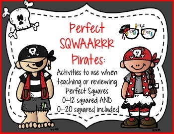 Perfect Sqwaaar Pirates: perfect for review or practice of