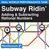 Performance Task - Adding & Subtracting Rational Numbers -