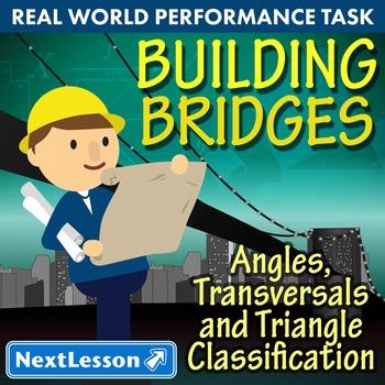 Performance Task – Angles, Transversals, Triangle - Buildi