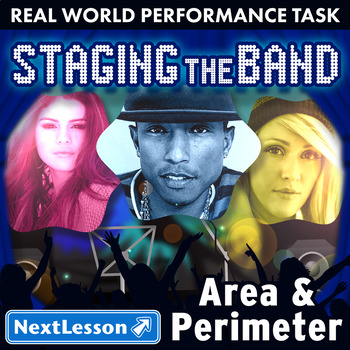 Performance Task – Area & Perimeter – Staging the Band: Br