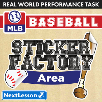 Performance Task – Area – Sticker Factory Baseball: SF Giants