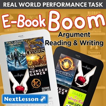 Performance Task – Argument Reading & Writing – E-Book Boo