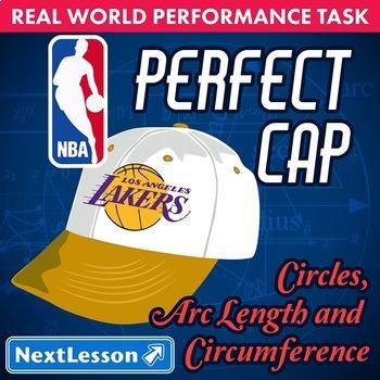 Performance Task – Circles Arc Length – Perfect Cap NBA –