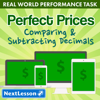Performance Task – Comparing & Subtracting Decimals – Perf