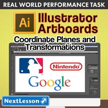 Performance Task – Coordinate Planes – Illustrator Artboar