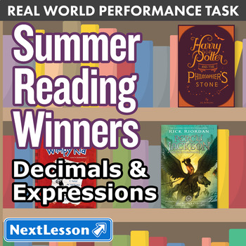 Performance Task - Decimals & Expressions - Summer Reading