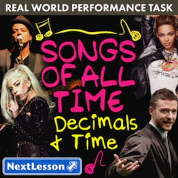Performance Task - Decimals & Time - Songs of All Time: Ta