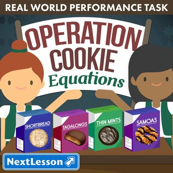 Performance Task – Equations – Operation Cookie - Tagalongs