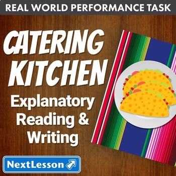 Performance Task – Explanatory Writing – Catering Kitchen