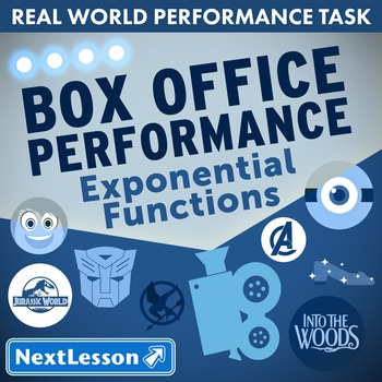 Performance Task – Exponential Functions – Box Office Perf