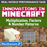 Performance Task - Factors & Number Patterns - Minecraftin