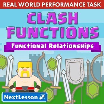 Performance Task – Functional Relationships – Clash Functi
