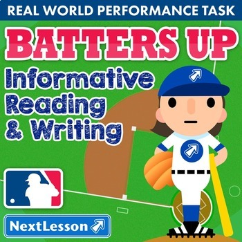 Performance Task – InfoReading & Writing – Batters Up – EL