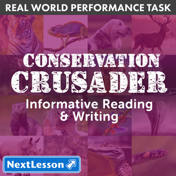G6 Informative Reading & Writing - Conservation Crusader P