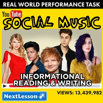 Performance Task – Informative Reading & Writing – Social