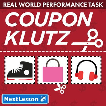 Performance Task - Integers & Equations - Coupon Klutz: He