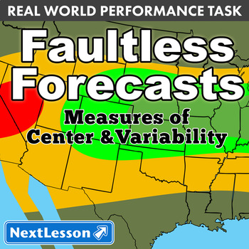 Performance Task – Measures of Center & Variability – Faul